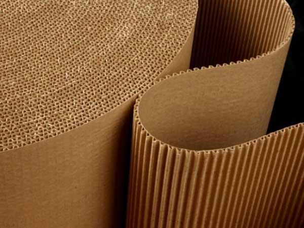 papel ondulado